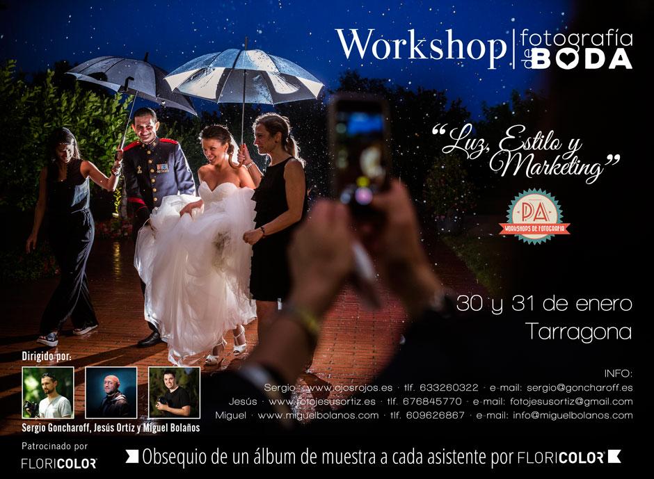 workshop boda luz estilo y marketing